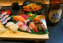 バルセロナで日本食を食べる